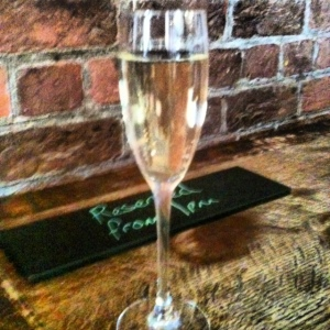 Chilled Prosecco