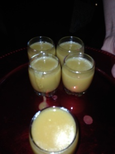 GORGEOUS Pumpkin Soup Shot
